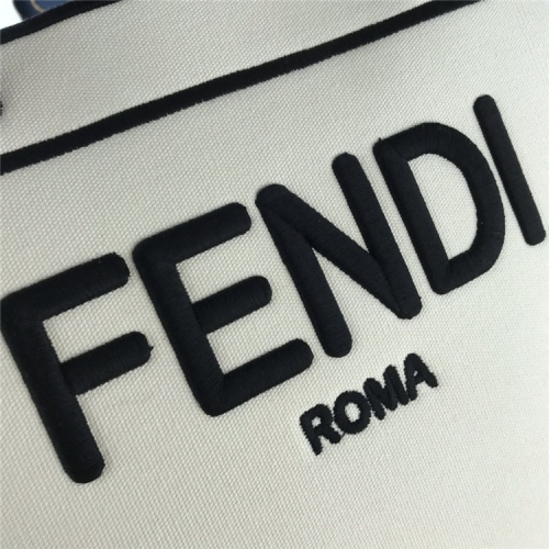 Replica Fendi AAA Quality Tote-Handbags For Women #826156 $133.00 USD for Wholesale