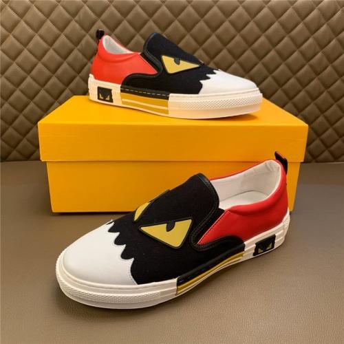 Fendi Casual Shoes For Men #826200 $72.00, Wholesale Replica Fendi Casual Shoes