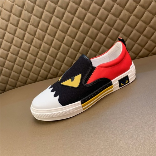 Replica Fendi Casual Shoes For Men #826200 $72.00 USD for Wholesale