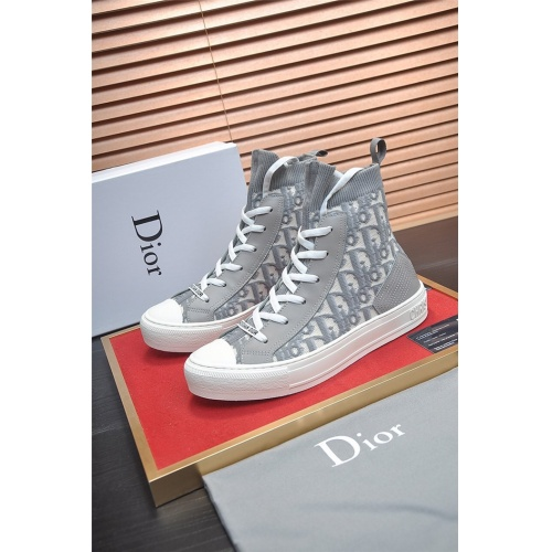 Christian Dior High Tops Shoes For Men #826225 $82.00, Wholesale Replica Christian Dior High Tops Shoes