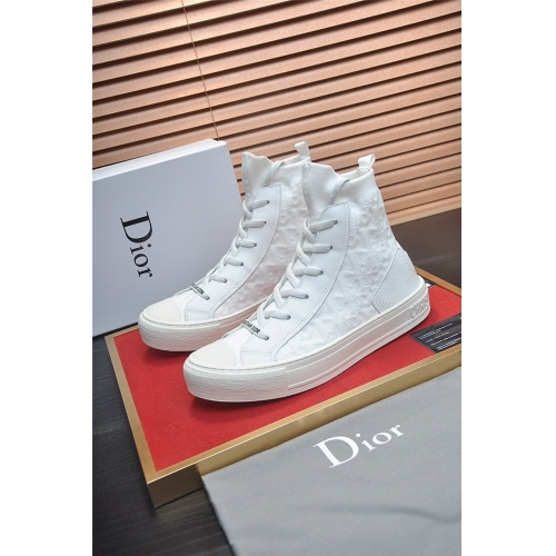 Christian Dior High Tops Shoes For Men #826226