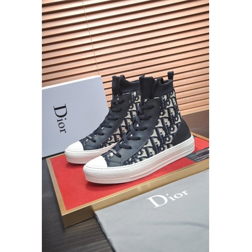 Christian Dior High Tops Shoes For Men #826227