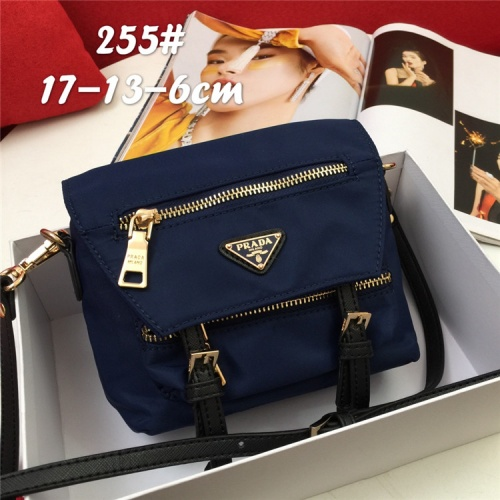 Prada AAA Quality Messeger Bags For Unisex #826240 $76.00, Wholesale Replica Prada AAA Quality Messeger Bags