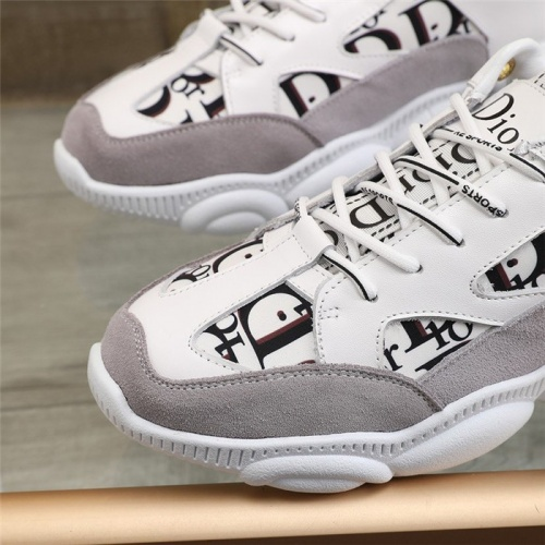 Replica Christian Dior Casual Shoes For Men #826276 $82.00 USD for Wholesale