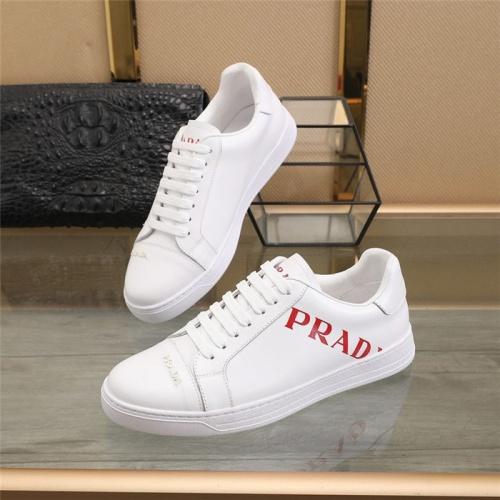 Prada Casual Shoes For Men #826279 $80.00, Wholesale Replica Prada Casual Shoes