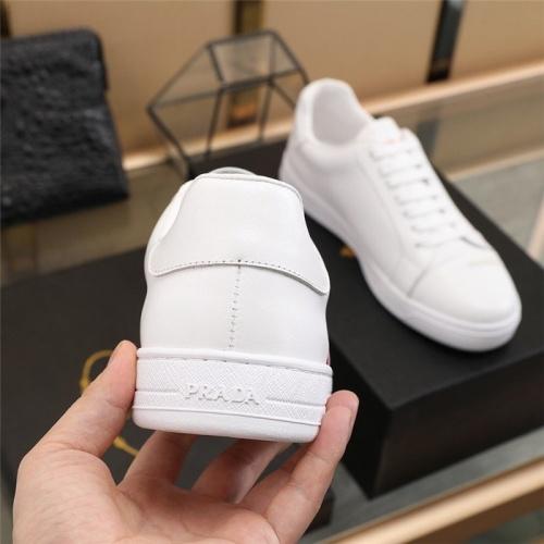 Replica Prada Casual Shoes For Men #826279 $80.00 USD for Wholesale