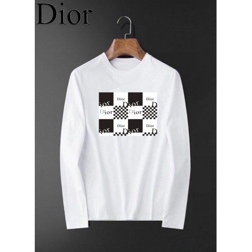 Christian Dior T-Shirts Long Sleeved O-Neck For Men #826346