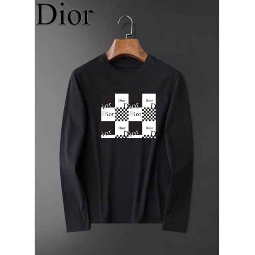 Christian Dior T-Shirts Long Sleeved O-Neck For Men #826347