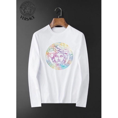 Versace T-Shirts Long Sleeved O-Neck For Men #826350