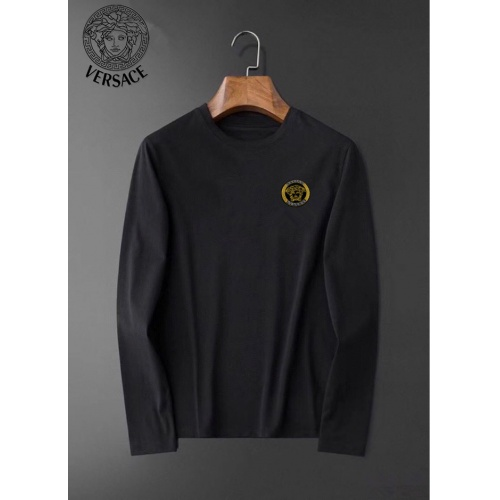 Versace T-Shirts Long Sleeved O-Neck For Men #826363