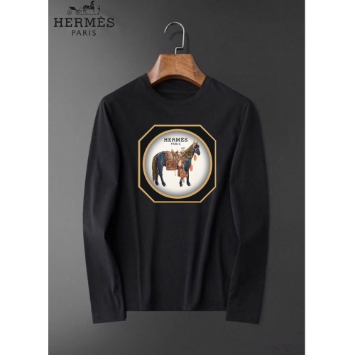 Hermes T-Shirts Long Sleeved O-Neck For Men #826367
