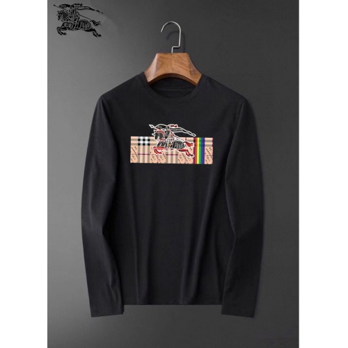 Burberry T-Shirts Long Sleeved O-Neck For Men #826375