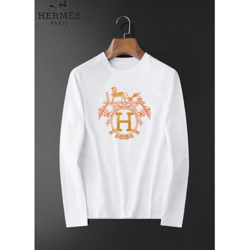 Hermes T-Shirts Long Sleeved O-Neck For Men #826376