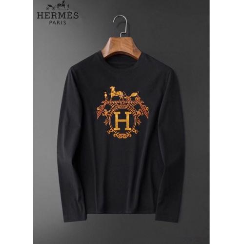 Hermes T-Shirts Long Sleeved O-Neck For Men #826377
