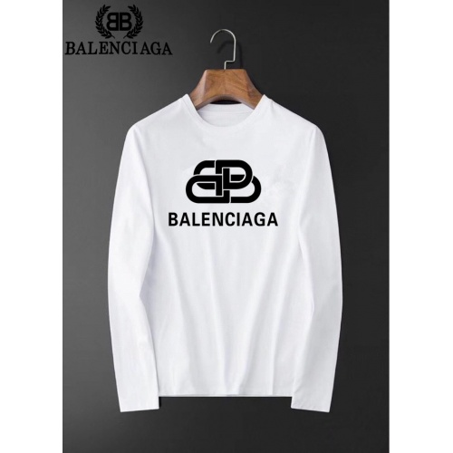 Balenciaga T-Shirts Long Sleeved O-Neck For Men #826380