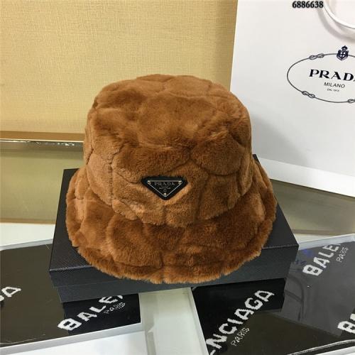 Prada Caps #826387 $32.00 USD, Wholesale Replica Prada Caps