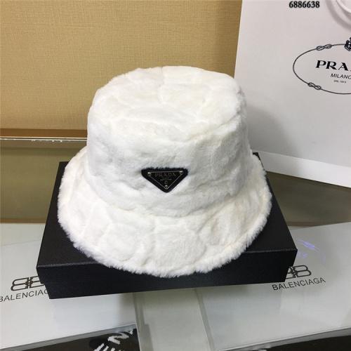 Prada Caps #826389 $32.00 USD, Wholesale Replica Prada Caps