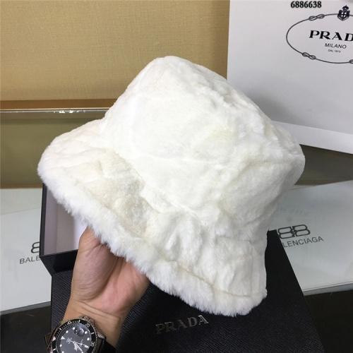 Replica Prada Caps #826389 $32.00 USD for Wholesale