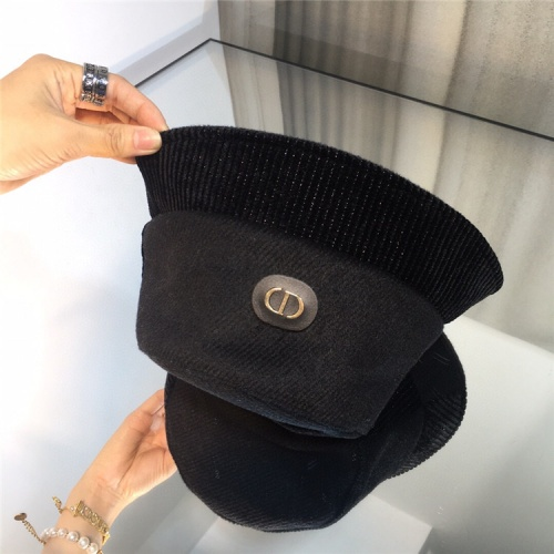 Replica Christian Dior Caps #826415 $34.00 USD for Wholesale