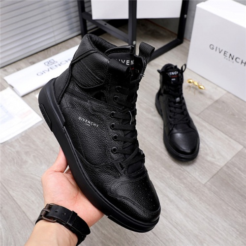Replica Givenchy High Tops Shoes For Men #826437 $100.00 USD for Wholesale