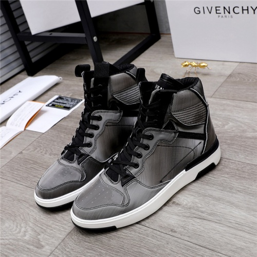 Givenchy High Tops Shoes For Men #826438