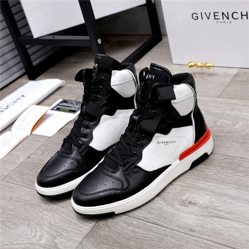 Givenchy High Tops Shoes For Men #826439