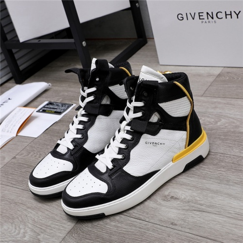 Givenchy High Tops Shoes For Men #826441