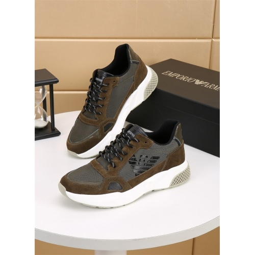 Armani Casual Shoes For Men #826493