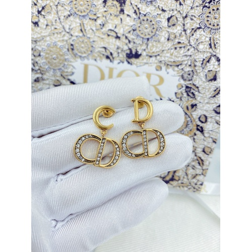 Christian Dior Earrings #826549 $29.00, Wholesale Replica Christian Dior Earrings