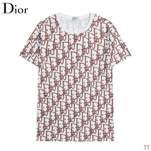Christian Dior T-Shirts Short Sleeved O-Neck For Men #826568