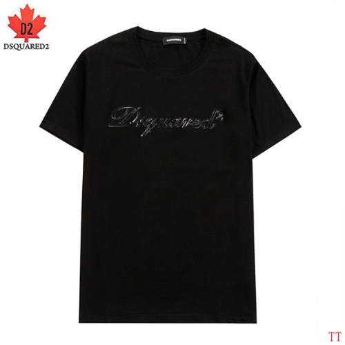 Dsquared T-Shirts Short Sleeved O-Neck For Men #826571 $27.00 USD, Wholesale Replica Dsquared T-Shirts