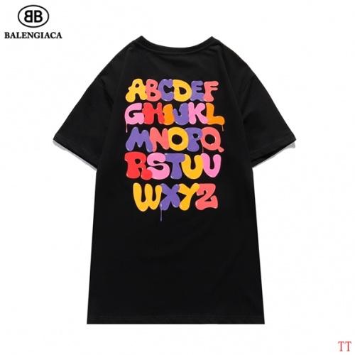 Balenciaga T-Shirts Short Sleeved O-Neck For Men #826619