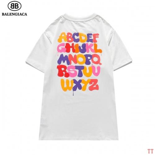 Balenciaga T-Shirts Short Sleeved O-Neck For Men #826620