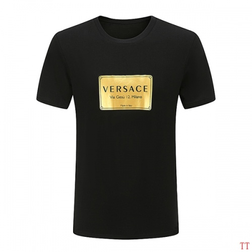 Versace T-Shirts Short Sleeved O-Neck For Men #826623 $27.00, Wholesale Replica Versace T-Shirts