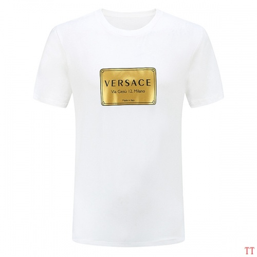 Versace T-Shirts Short Sleeved O-Neck For Men #826624 $27.00, Wholesale Replica Versace T-Shirts
