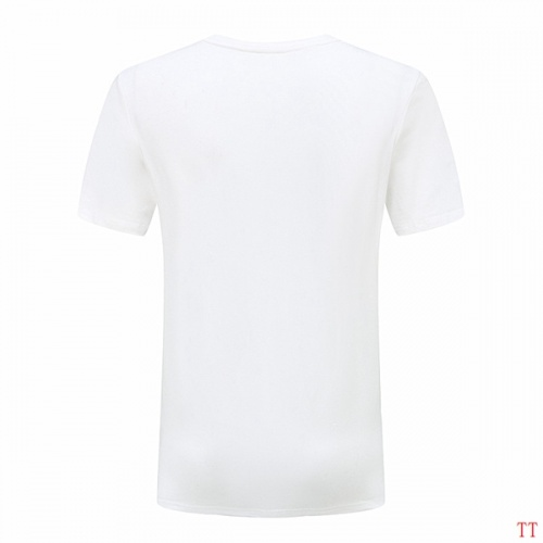 Replica Versace T-Shirts Short Sleeved O-Neck For Men #826624 $27.00 USD for Wholesale