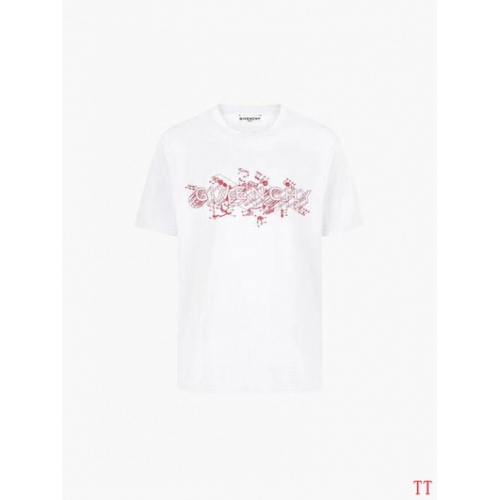 Givenchy T-Shirts Short Sleeved O-Neck For Men #826628 $27.00 USD, Wholesale Replica Givenchy T-Shirts