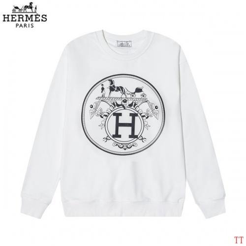 Hermes Hoodies Long Sleeved O-Neck For Men #826636 $39.00 USD, Wholesale Replica Hermes Hoodies