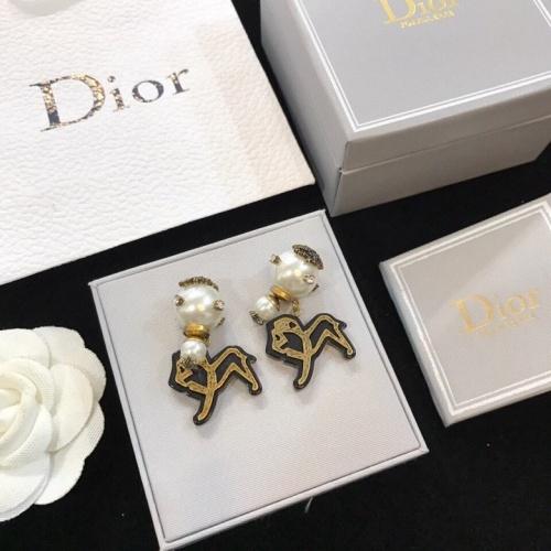 Christian Dior Earrings #826740 $$36.00 USD, Wholesale Replica Christian Dior Earrings