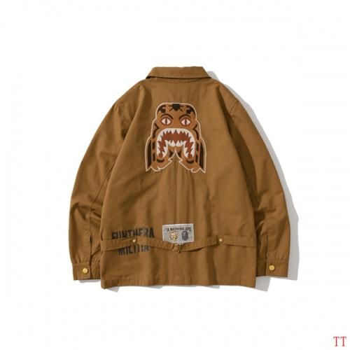 Bape Jackets Long Sleeved For Men #826755