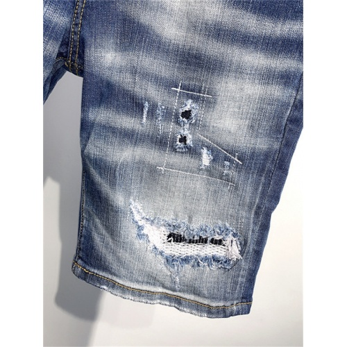 Replica Dsquared Jeans Shorts For Men #826792 $52.00 USD for Wholesale