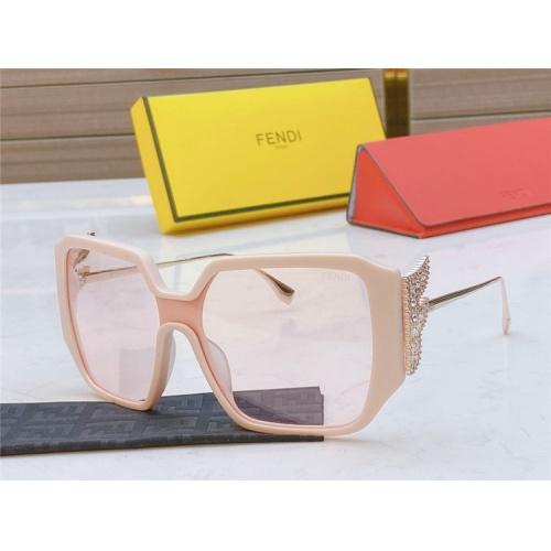 Fendi AAA Quality Sunglasses #826848 $56.00, Wholesale Replica Fendi AAA Sunglasses