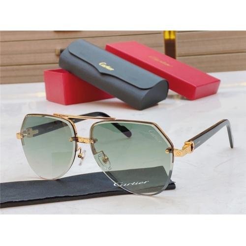 Cartier AAA Quality Sunglasses #826867
