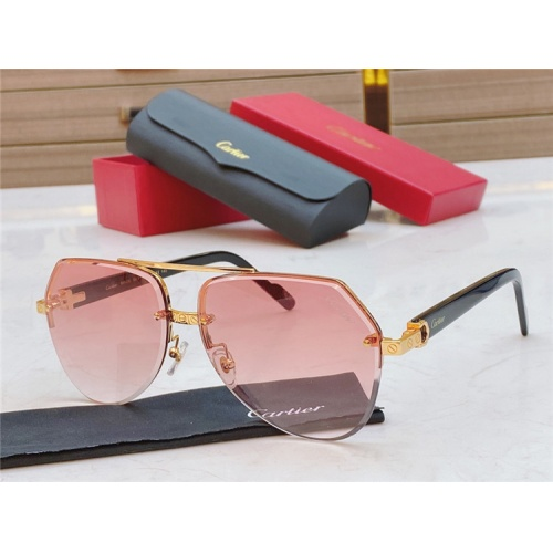 Cartier AAA Quality Sunglasses #826868