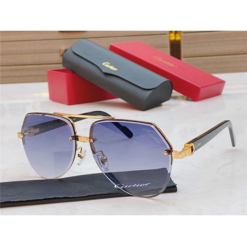 Cartier AAA Quality Sunglasses #826869