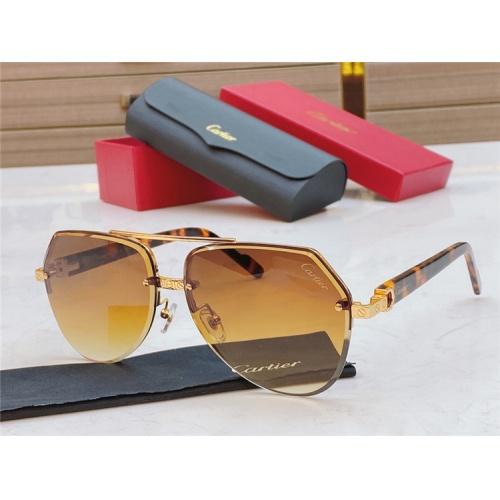 Cartier AAA Quality Sunglasses #826870