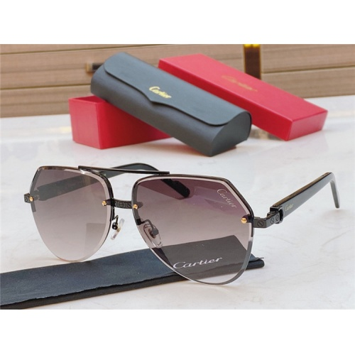 Cartier AAA Quality Sunglasses #826872