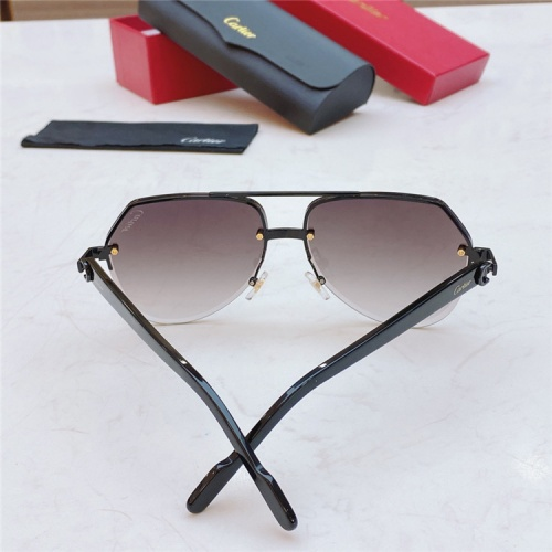 Replica Cartier AAA Quality Sunglasses #826872 $45.00 USD for Wholesale