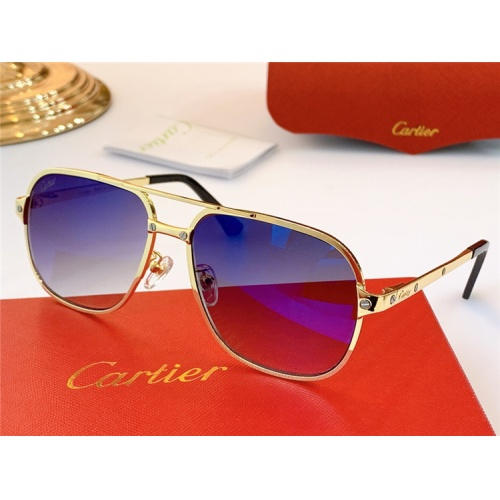 Cartier AAA Quality Sunglasses #826873