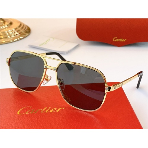 Cartier AAA Quality Sunglasses #826875